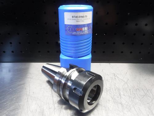 ERI America BT40 ER40 Collet Chuck 70mm Projection BT40-ER40-70 (LOC2045B)