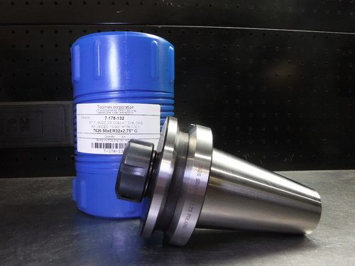 "ToolMex BT50 ER32 Collet Chuck 2.75"" Projection 7-178-132 (LOC3006)"
