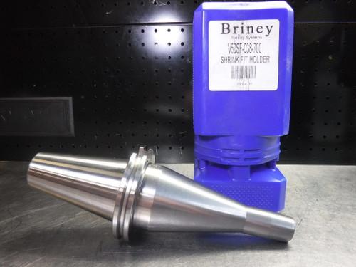 "Briney CAT50 3/8"" Shrink Fit Holder 7"" Projection V50SF-038-700 (LOC853B)"