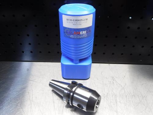 "ERI America BT30 5/8"" Endmill 2.5"" Projection BT30-EM0625-2.50 (LOC1830A)"