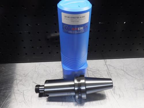 """ERI America BT40 Facemill 3/4"""" Arbor 4"""" Projection BT40-SM0750-4.00C (LOC811)"""