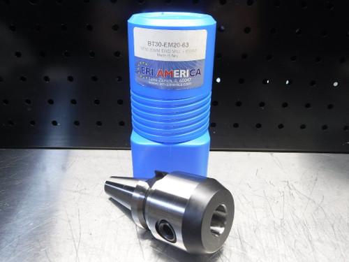 ERI America BT 30 20mm Endmill 63mm Projection BT30-EM20-63 (LOC1829B)