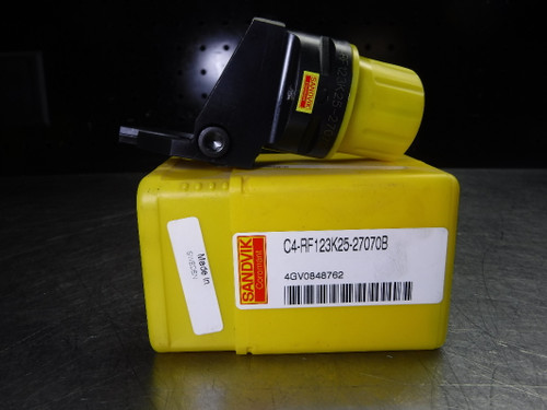 Sandvik Capto C4 Indexable Parting / Grooving Head C4-RF123K25-27070B (LOC1443B)