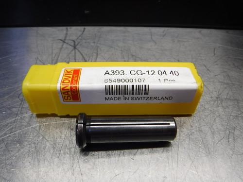 """Sandvik 1/4"""" ID Hydraulic Chuck Collet 12mm OD A393.CG-12 06 40 (LOC2065A)"""