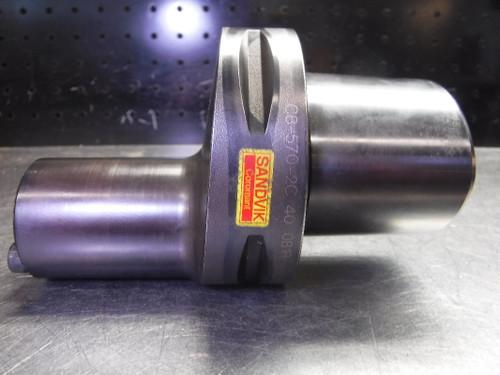 Sandvik CoroTurn Capto C8 SL40 Boring Bar Adaptor C8-570-2C 40 081R (LOC1860A)