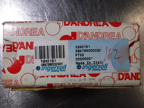 Ingersoll PT32 DANDREA BORING MOD (LOC2163B)