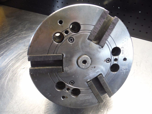 "Kitagawa 8"" 3 Jaw Hydraulic Power Lathe Chuck HG 715 210 (LOC2975B)"