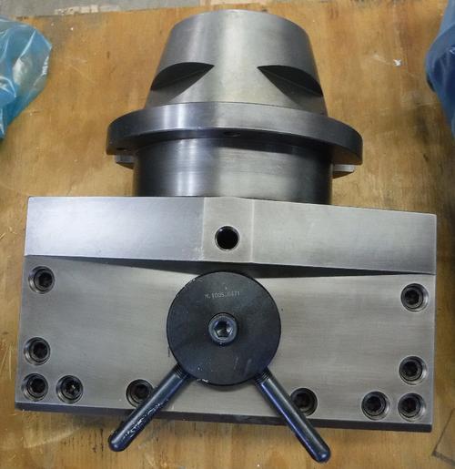 """Giddings & Lewis Davis 1.55"""" VTL Wedge Lock Lathe Tool Post M.1301.3272 (STK)"""