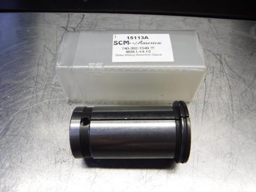 "SCM-America 1/2"" ID Reduction Sleeve 1.250"" OD 9020.1-1/4.1/2 (LOC833B)"