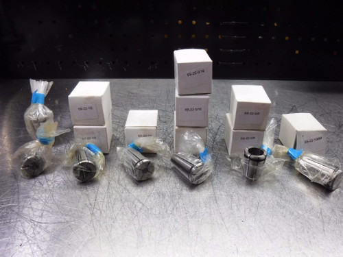 A&F Hayes SS 22 Collet Set Kit Various Capacities (LOC2043D)