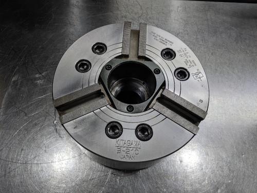 """Kitagawa 10"""" 3 Jaw Hydraulic Lathe Power Chuck w/Back Plate  #B-210 (LOC3061A)"""