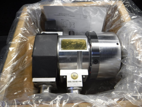 "Bison Hydraulic Cylinder With 46mm Thru-Hole For 5"" 6"" & 8"" Power Chuck (LOC2443B)"