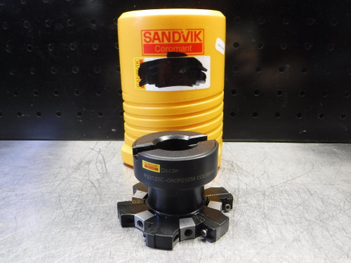 Sandvik 10-12mm Adjustable Milling Cutter 50.8mm Pro R331.32C-080R25EM (LOC978D)