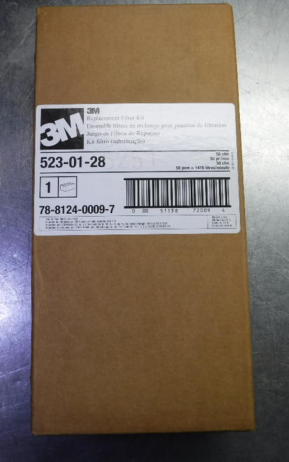 3M Replacement Filter Kit 1 EA/Case 523-01-28 (LOC1696)
