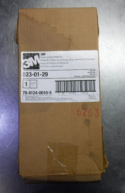 3M Replacement Filter Kit 1 EA/Case 523-01-29 (LOC1696)