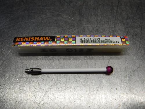 Renishaw M3 5mm Ruby Ball 50mm L Ceramic Stem Styli A-5003-0069 (LOC2858D)
