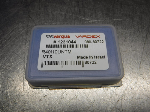 Vargus Vardex MiTM40  Thread Mill Inserts QTY2 R40I10UNTM (LOC51)