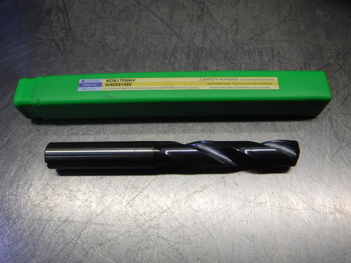 Sumitomo 17mm Coolant Thru Drill 17mm Shank MDS170MHV W40031492 (LOC121)