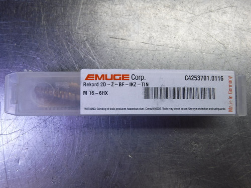 Emuge Rekord M16 6HX Coolant Through Tap C4253701.0116 (LOC2457)
