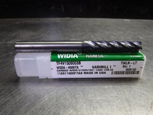 """Widia Varimill 5/16"""" Solid Carbide Endmill 4 Flute TF4V1508003B (LOC1500)"""