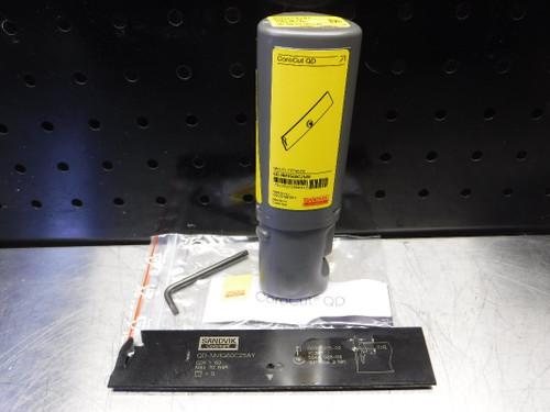 Sandvik CoroCut QD Grooving/Parting Tool Holder QD-NN1G60C25AY (LOC1381B)