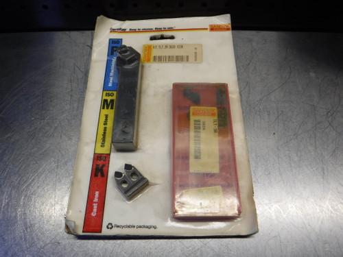 """Sandvik 3/4"""" x 3/4"""" Indexable Lath Tool W/ Inserts TLSR-123B G9M (LOC1797)"""