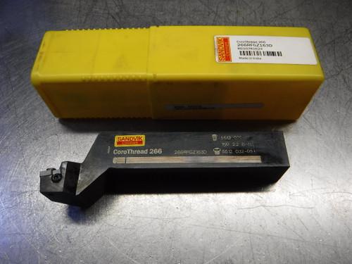 "Sandvik CoroThread 1""X1"" Indexable Lath Tool Holder 266RFGZ163D (LOC715)"
