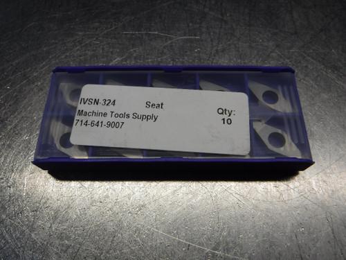 Machine Tools Supply Insert Seat QTY10 IVSN-324 (LOC257)
