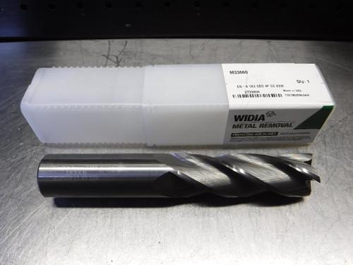 """Widia/Metal Removal 1"""" 4 Flute Carbide Endmill 1"""" Shank M33660 (LOC1498B)"""
