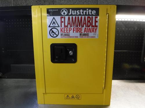 Justrite Sure-Grip EX 2 Gallon Yellow Flammable Storage Cabinet 890200 (LOC2129B)