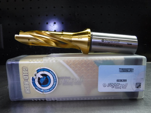 """Ingersoll 20mm Replaceable Tip Drill 1"""" Shank TD2000060C8R01 (LOC2747A)"""