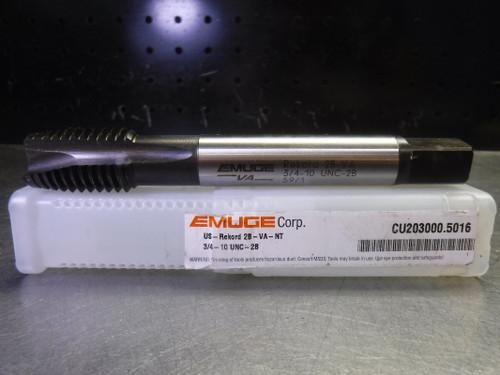 Emuge Rekord 2B-VA 3/4-10 UNC Spiral Point Tap CU203000.5016 (LOC2708C)