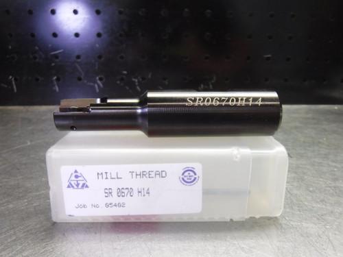 "Carmex .67"" Indexable Threadmill 3/4"" Shank SR 0670 H14 (LOC2774B)"