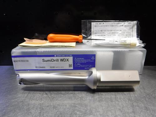 "Sumitomo 20mm Indexable Drill 1"" Shank WDX0787D5S100 (LOC2220)"