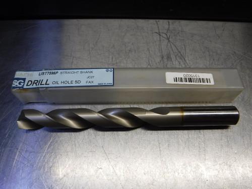 Nachi SG 18.5mm Oil Hole 5D Drill 18.5mm Shank 18.5 L7596P (LOC2190)