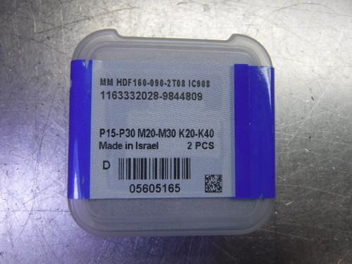 """Iscar MultiMaster .618"""" Endmill Head QTY2 MM HDF160-090-2T08 IC908 (LOC2717A)"""