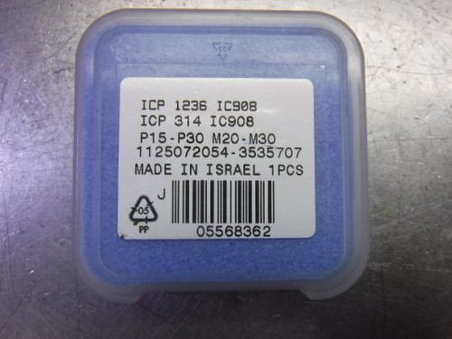 """Iscar 1.236"""" Replaceable Drill Tip QTY1 ICP 1236 / ICP 314 IC908 (LOC2717A)"""