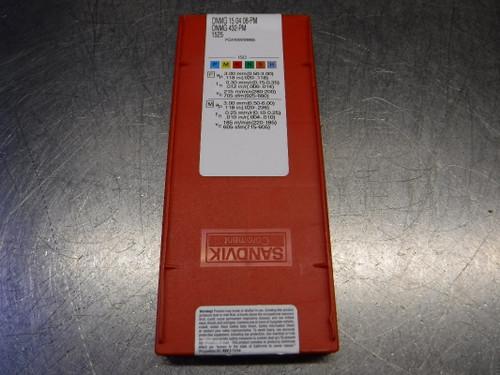 Sandvik Cermet Inserts QTY10 DNMG 432-PM / DNMG 15 04 08-PM 1525 (LOC2104A)