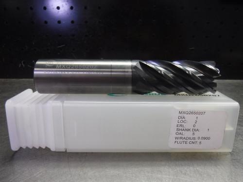 "LMT ONSRUD 1"" Solid Carbide Endmill 5 Flute MXQ2650207 (LOC1474)"