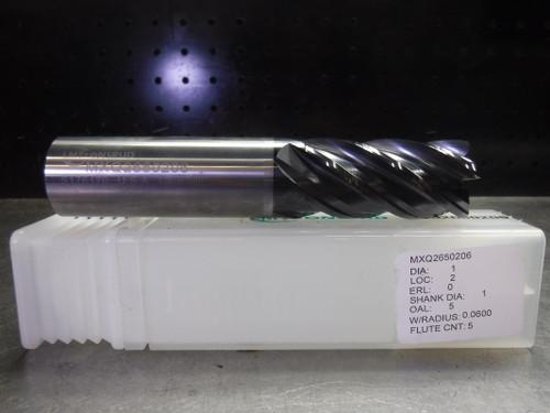 "LMT ONSRUD 1"" Solid Carbide Endmill 5 Flute MXQ2650206 (LOC1327B)"
