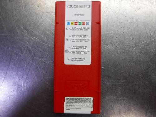Sandvik Carbide Inserts QTY10 N123F2-0239-0002-GF 1125 (LOC1594)