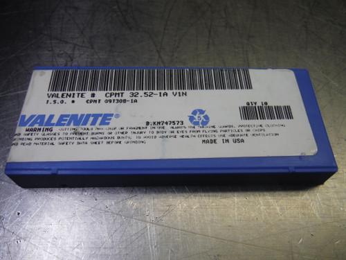Valenite Carbide Inserts QTY10 CPMT 32.51-1A / CPMT 09T308-1A V1N (LOC1554)