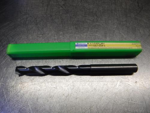 Sumitomo 11.2mm 2 Flute Carbide Drill 12mm Shank MDS112LHV W40014945 (LOC2635)
