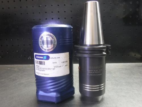 "Schunk Tendo EC CAT40 3/4"" Hydraulic Tool Holder 4"" Projection 1000067 (LOC2143D)"