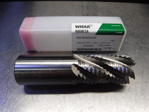 "Widia/Hanita 1.250"" 6 Flute M42 Cobalt Endmill 1.250"" Shank 620832009 (LOC606)"