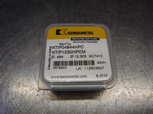 "Kennametal 0.484"" Carbide Drill Tip Insert QTY1 KTIP04844HPC KC7410 (LOC1389A)"