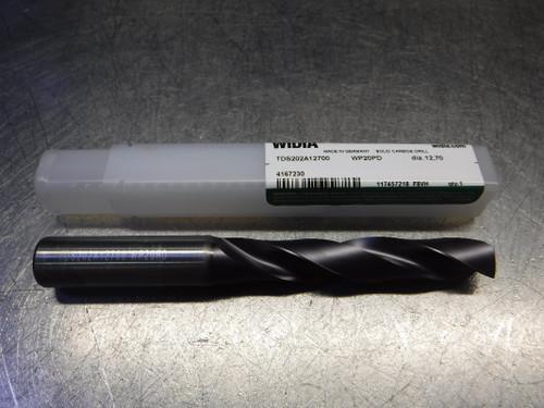 "Widia 1/2"" 2 Flute Carbide Drill 14mm Shank TDS202A12700 WP20PD (LOC773A)"