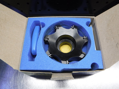 """Iscar 5"""" Indexable Facemill 1.5"""" Arbor F90SD D5.0-1.5-CP12 (LOC1278A)"""