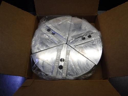 "MonsterJaws 12"" Aluminum Full Grip Round Soft Jaws FGB212-2A (LOC1888C)"