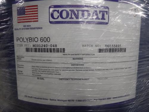 Condat POLYBIO 600 Metalworking Lubricant 55 Gallon NC01240-048 (STK)